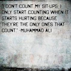 fitspiration...inspirational quote...Muhammad Ali...Mental Strength