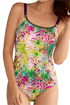 095e918808 Miami One Piece Swimsuit - multi | Pocketed Mastectomy Swimwear | Amoena USA