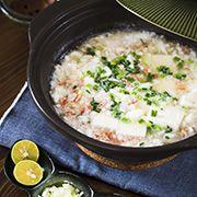 カニと豆腐のあんかけ鍋