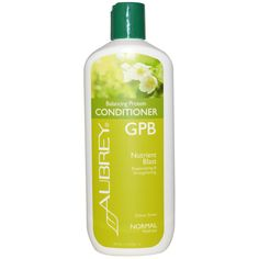 Aubrey Organics, GPB Balancing Protein Conditioner, Nutrient Blast, Normal, 11 fl oz (325 ml)