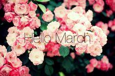 Hello March, goodbye February