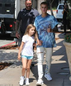 His own quality time: On Friday, the Canadian pop star took his eight-year-old…