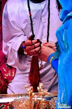 Sudanese Jirtig Groom Henna
