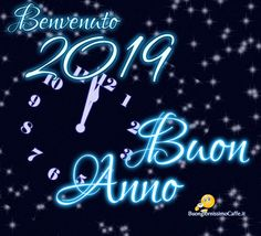 Belle immagini per Auguri di Buon Anno 2019 Happy New Year 2019, Wish, Diy And Crafts, Neon Signs, Merry Christmas, Santa, Yoga, Spaces, Wallpaper