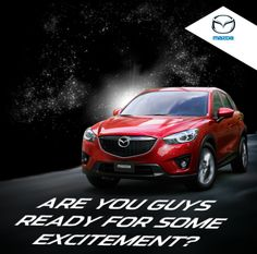 Are you guys ready for some excitement?  Click here to participate: http://www.facebook.com/MazdaOman/app_403248083091961?ref=ts