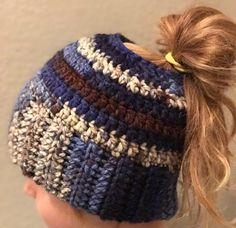A personal favorite from my Etsy shop https://www.etsy.com/listing/492560484/ponytail-hat-messy-bun-hat-ponytail