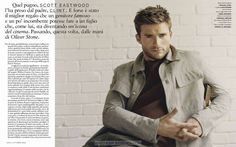 Scott Eastwood por Tom Craig para GQ Italia