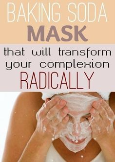 Skin Remedies Baking Soda Mask That Will Transform Your Complexion Radically Beauty Care, Beauty Skin, Hair Beauty, Beauty Secrets, Beauty Hacks, Beauty Products, Beauty Ideas, Skin Products, Baking Soda Mask