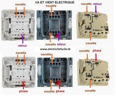 logiciel plan electrique gratuit - schema electrique Home Electrical Wiring, Electrical Layout, Locker Storage, Construction, Science Online, Gaines, Design, Home Decor, Self Sufficient Homestead