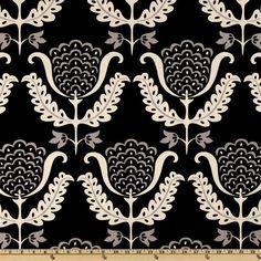 Waverly One Wish Blackbird - Discount Designer Fabric - Fabric.com