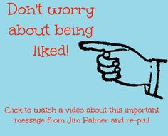 In another hot but fun episode from the woods, I talk to you about the importance of being 'everywhere' and I also share my opinion on why not being liked is not a problem! Don't miss this important episode. #Newsletterguru #TV #Video http://www.getjimpalmer.com/dont-worry-about-being-liked/