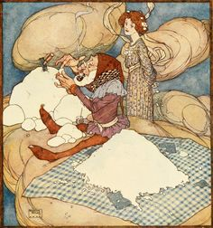 The Fairies Who Changed Places Edmund Dulac