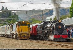 RailPictures.Net Photo: 1271 Steam Incorporated Steam 4-8-2 at Taihape, New Zealand by John Russell