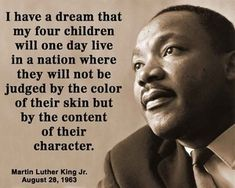 martin luther king's thesis