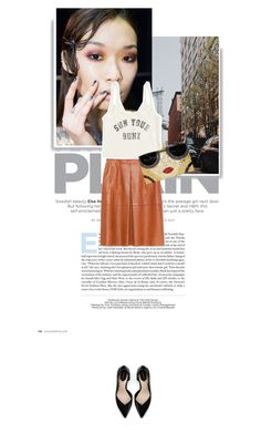 """""""666."""" by cinthyasss ❤ liked on Polyvore featuring Zara, Christian V Siriano, Billabong and Alice + Olivia"""
