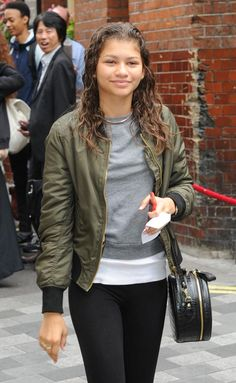 Zendaya at her hotel in London 8/12/15