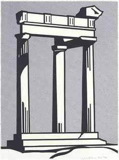 Roy Lichtenstein, Temple, 1964