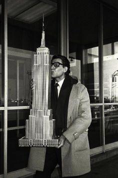 yves saint laurent, new york, 1983