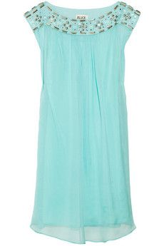ALICE by Temperley  Tarini embellished silk-chiffon dress  £325