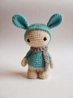 Knitted wonders of Marina Chuchkalova: Amica girl (description)