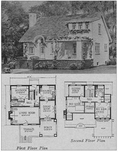 The Books of a Thousand Homes: 500 Small House Plans edited by Henry Atterbury Smith.
