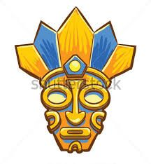 Resultado de imagen para mascaras antiguas aztecas