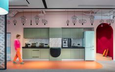 Avito Sales Department - Picture gallery 1 Commercial Interior Design, Office Interior Design, Commercial Interiors, Office Interiors, Breakout Area, Company Slogans, Business Centre, Office Workspace, Furniture