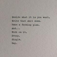 Sounds like a good plan.