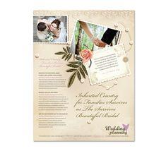 Wedding Planner Flyer Template Dlayouts