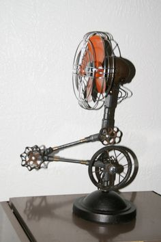 Industrial/Steampunk fan <3 the design & effects this piece has in a space....