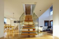 modern staircase design, simple staircase design  Modern interior staircase design ideas 2018 for luxury lovers, wood, glass, concrete and metal interior stairs designs and stair railing for high-class homes and villas