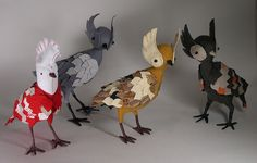 a little flock by Abby Glassenberg, via Flickr