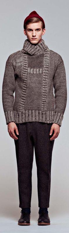 Mjölk fw11- GRØNNEGADE KNIT sweater