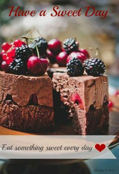 We're still celebrating Christmas with a black forest mousse cake. This cake takes full advantage of two of my favourite ingredients, chocolate and a variety of summer berries like blackberries Sweet Recipes, Cake Recipes, Dessert Recipes, Cupcakes, Cupcake Cakes, Shoe Cakes, Chocolate Desserts, Chocolate Chocolate, Chocolate Mousse Cake