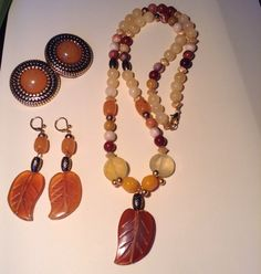 A personal favorite from my Etsy shop https://www.etsy.com/listing/467687794/gemstone-and-vintage-beaded-fall-leaf