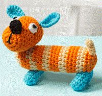 Sam the Dog Free Amigurumi Crochet Pattern « Free Amigurumi Patterns