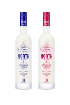 North Cocktails — The Dieline - Branding & Packaging