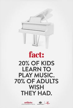 Take this as a lesson. Teach kids music. All kids.