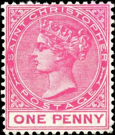 """1889 Scott 17 rose """"Victoria"""" Quick History Tobago is a small island km long and 10 km wide) in the tropical West Indies just of. Commonwealth, Treaty Of Paris, Swiss Family Robinson, Rose Queen, Old Stamps, British Colonial, West Indies, Stamp Collecting, Postage Stamps"""