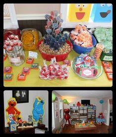 Sesame Street, Elmo Birthday Party Ideas | Photo 7 of 49 | Catch My Party