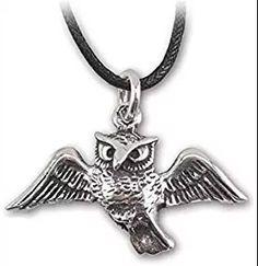 Uil zilveren hanger (K5020)