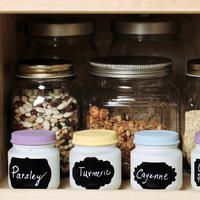 Here are tips to upcycle baby food jars as spice jars, votives and vases.