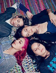 warpaint aren't your average girl band... | i-D Magazine