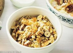 Davina McCall: Home-made granola   Daily Mail Online