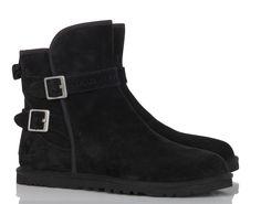 Boots fourrées Leni Noir by UGG