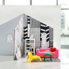 """Oh my....got to get my hands on this one. Perfect as an update for the old doll house which my grandfather built for me and which by is """"owned"""" by my daughter."""