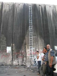 West Bank Wall-Banksy