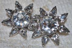 Vintage Rhinestone Eisenberg Earrings