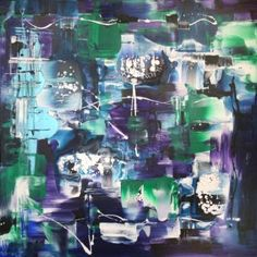 "Saatchi Art Artist Paresh Nrshinga; Painting, ""Underwater Kingdom/ ABSTRACT"" #art"