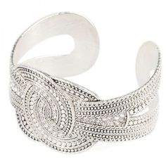 Antique Silver Bangle ($32) ❤ liked on Polyvore featuring jewelry, bracelets, dresses, shoes, tops, bracelets bangle, antique silver jewelry, bangle bracelet, hinged bracelet and bangle jewelry